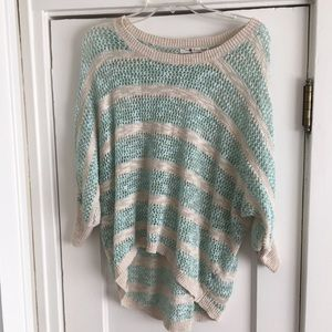 Knit top.